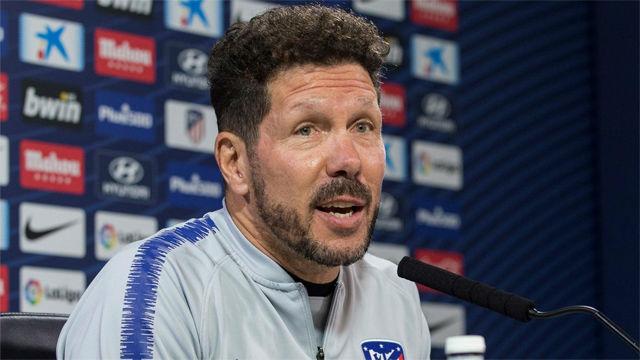 Simeone, en titulares: Tengo que hablar con Costa para ver si puede jugar
