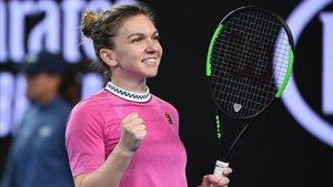 Simona Halep combina su pasión por el tenis y el fútbol