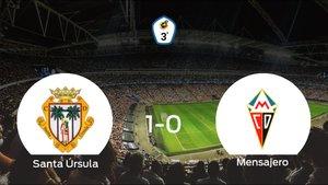 Tres puntos para el equipo local: Santa Úrsula 1-0 Mensajero