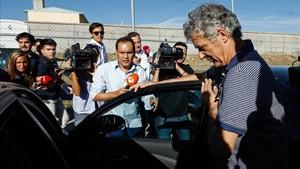 Una de las últimas apariciones públicas de Ángel María Villar