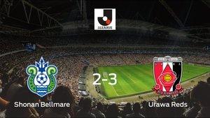 El Urawa Reds se lleva tres puntos a casa tras vencer 2-3 al Shonan Bellmare