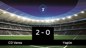 El Varea se queda los tres puntos frente al Yagüe