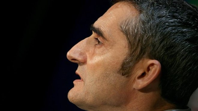 Barcelona coach Ernesto Valverde pleased to overcome Real Sociedad