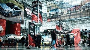 El Salón de Nueva York presenta coches espectaculares este año.