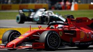 Vettel lideró la carrera de principio a fin