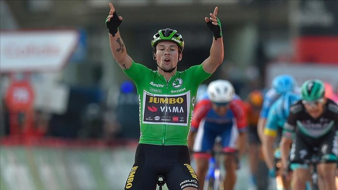 Roglic gana la décima etapa y recupera el maillot rojo