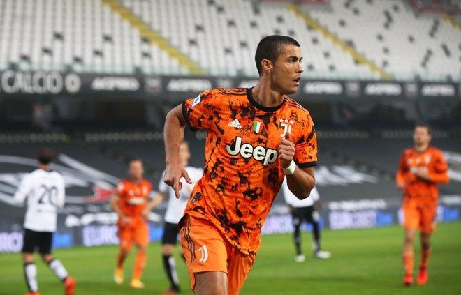 Cristiano, MVP del mes de noviembre en la Serie A