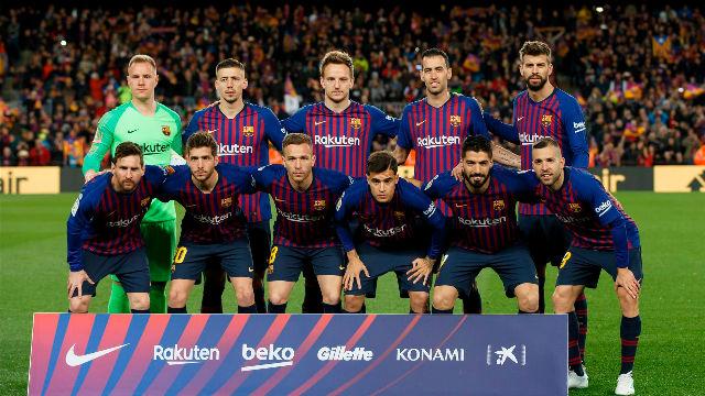 El 1x1 del Barça ante el Atlético al descanso