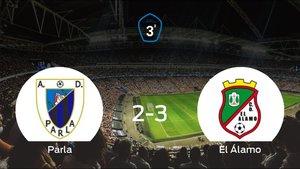 El Álamo consigue los tres puntos después de vencer 2-3 al Parla