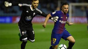 Alcácer podría dejar el Barça este verano