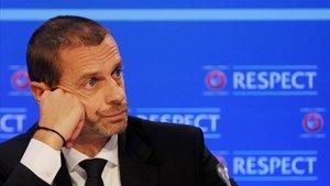 Aleksander Ceferin es el presidente de la UEFA
