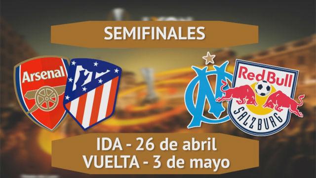 El Arsenal, rival del Atlético de Madrid en semifinales de Europa League
