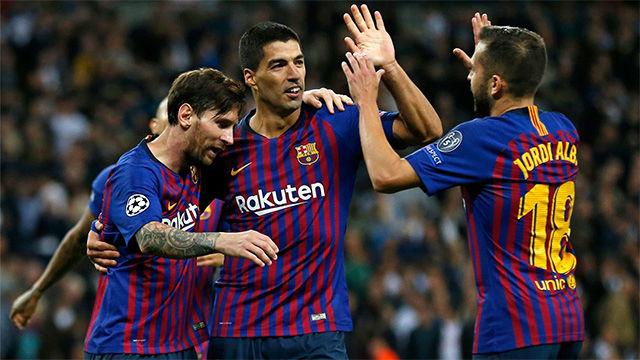 Así fue la majestuosa y sufrida victoria del Barça ante el Tottenham