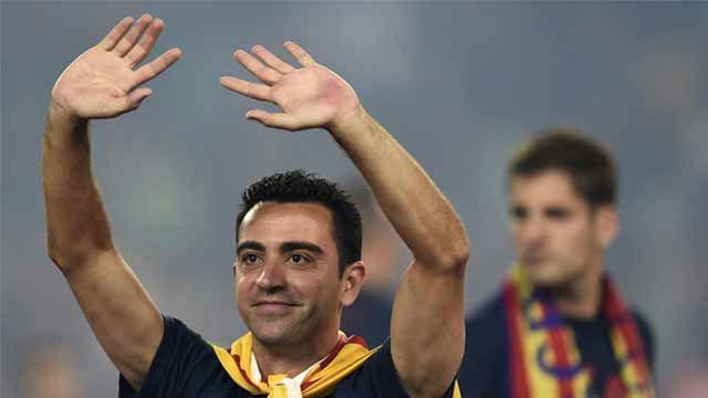 Así homenajea la UEFA los 39 años de Xavi Hernández