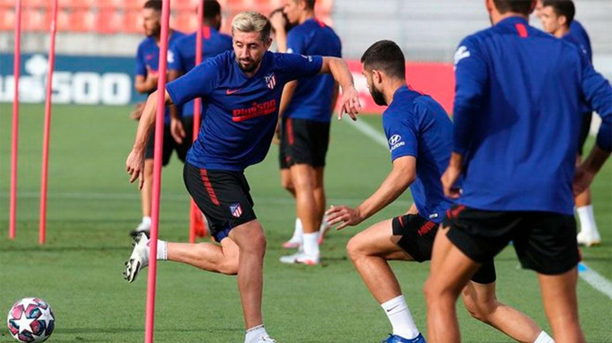El Atlético de Madrid sigue preparando su próximo partido de Liga de Campeones