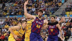 El Barça jugó un partido muy sólido ante el Gran Canaria