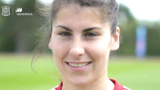 La bonita historia de cómo Lucía García creció con un balón y acabó en un Mundial