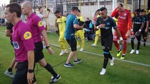 Un buen Villarreal empata frente Olympique de Marsella con gol de Ekambi