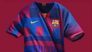 La camiseta de los 20 años de Nike y el Barça