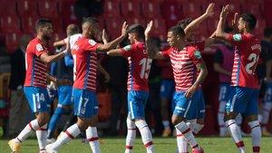 Con una victoria, el Granada podría situarse en la cúspide de la tabla