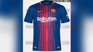 3145e658f57f0 Nuevos detalles de la nueva camiseta del FC Barcelona 2017 2018