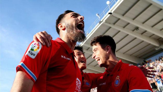 El doblete de Borja Iglesias que hace soñar al Espanyol
