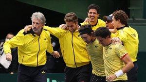 Ecuador se clasificó para la fase final de la Copa Davis al derrotar a Japón