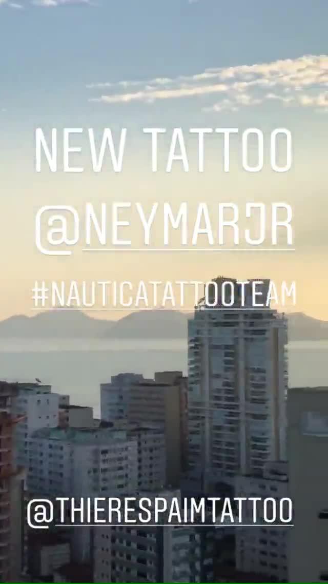 Este es el nuevo tatuaje de Neymar