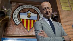 Esteve Calzada ya es oficialmente el nuevo presidente del Sabadell