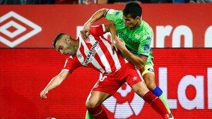Frente al Betis el Girona perdió su segundo partido en casa