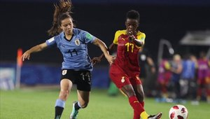 Ghana goleó 5-0 a la anfitriona Uruguay