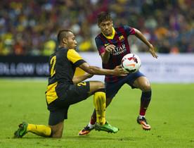 GIRA ASIÁTICA FCBARCELONA. MALASIA XI-FCBARCELONA