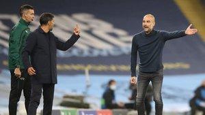 Guardiola y Conceiçao se las tuvieron en un encuentro intenso