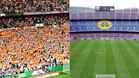 La imagen que compara el Bernabéu con el Camp Nou