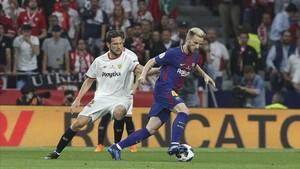 Ivan Rakitic fue amo y señor del centro del campo en la final de Copa del Rey