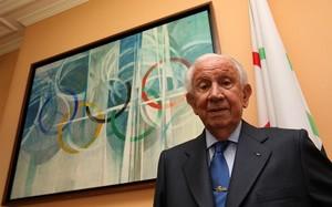 Juan Antonio Samaranch en una imagen de 2010, meses antes de su fallecimiento