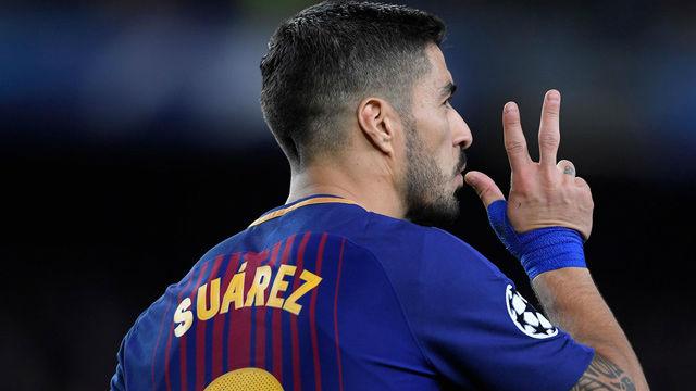 LACHAMPIONS | FC Barcelona - Roma (4-1): El gol de Luis Suárez