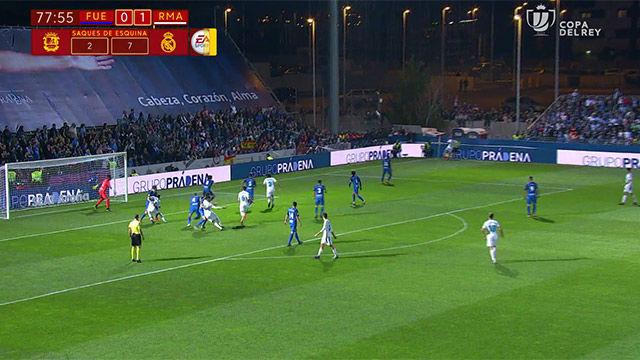 LACOPA | Fuenlabrada - Real Madrid (0-2): Polémico penalti de Fran García sobre Theo