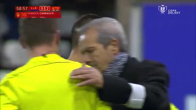 LACOPA   Lleida - Atlético Madrid (0-4): El debut de Vitolo