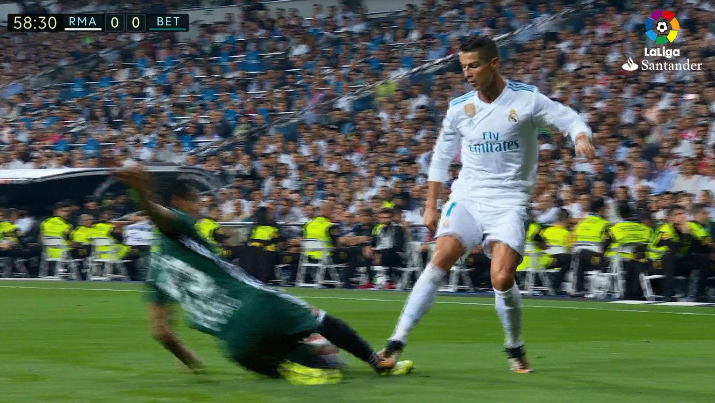 LALIGA | Real Madrid-Betis (0-1): El pisotón de Cristiano Ronaldo