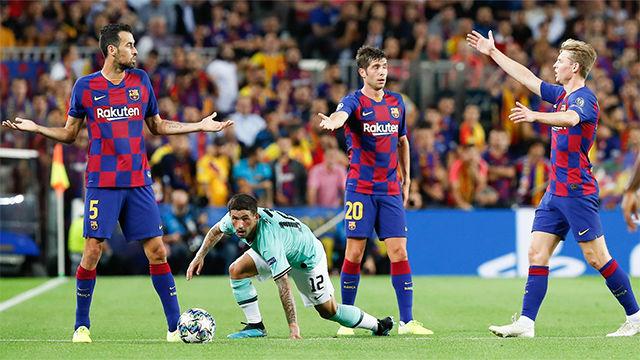 Las notas de los jugadores del Barça contra el Inter