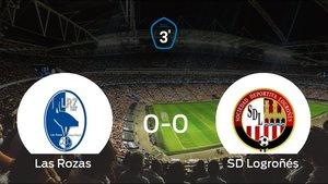 Las Rozas y el Logroñés empatan en la ida de la semifinal de los playoff (0-0)