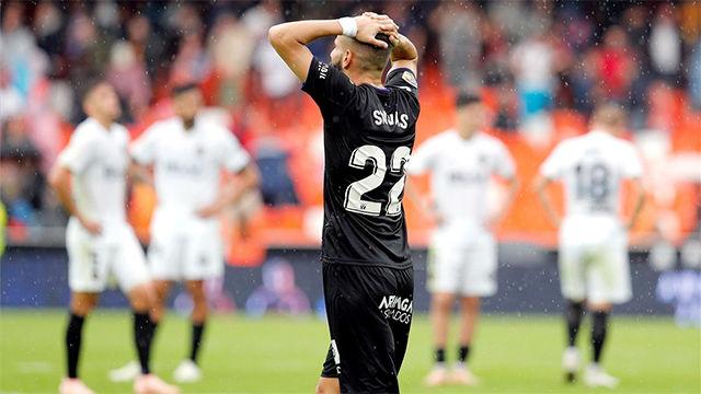 El Leganés cosechó un valioso empate en el campo del Valencia