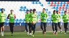 El Levante preparó el partido ante el Barcelona de Copa