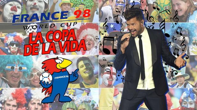 Los grandes éxitos del mundial: Ricky Martin creó para Francia 98 la mejor canción de la historia de los mundiales