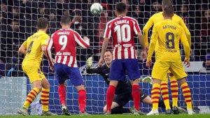 Marc André Ter Stegen fue un muro infranqueable para el Atlético