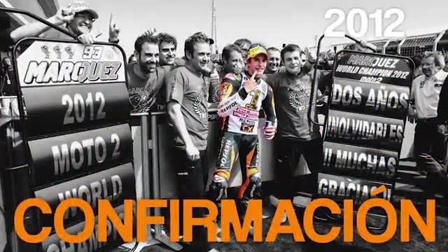 Márquez consigue su cuarto título de campeón del mundo de MotoGP