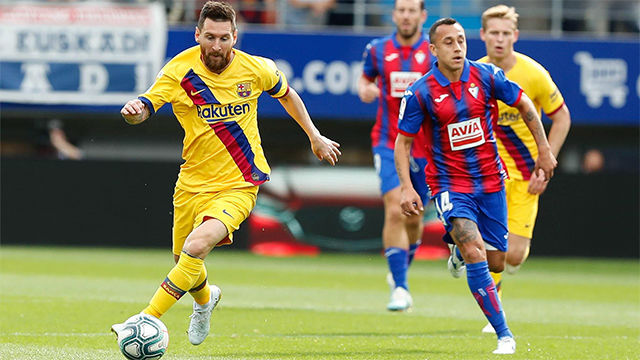 Lo mejor de Messi ante el Eibar
