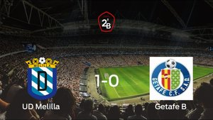 El Melilla derrota 1-0 al Getafe B en el Municipal Álvarez Claro