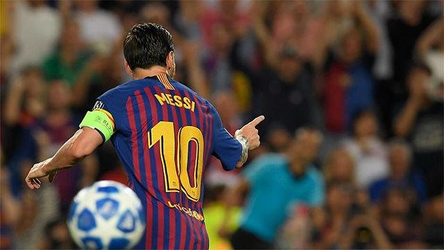Messi coloca la guinda